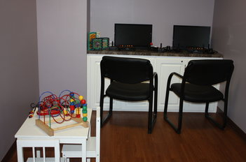 Play Area and Game Room